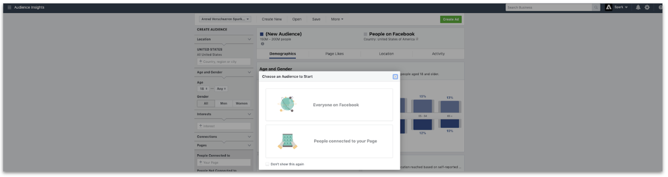 Ontdek facebook audience insights in 4 stappen