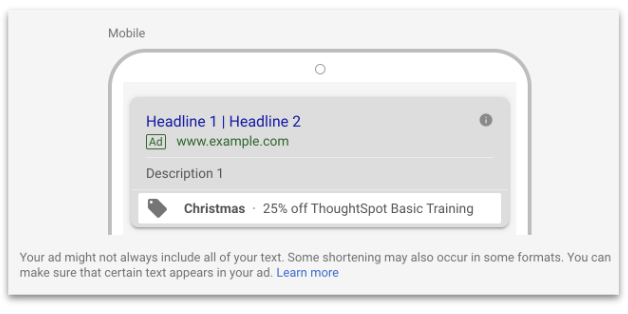Hoe werken promotion extensions in Google Ads?